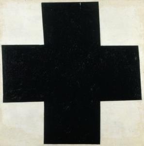 obra cruz negra de Kazimir Malévich