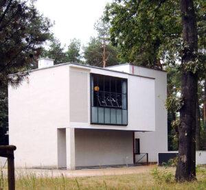 foto de la Casa del maestro Lyonel Feininger en Dessau