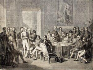 Ilustración del libro Historia del Consulado y del Imperio