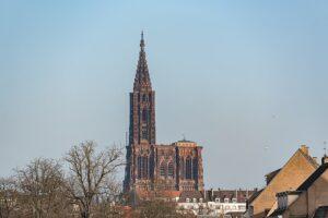 fotografía de la Catedral de Estrasburgo (Alemania).