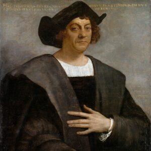 Retrato de Cristobal Colón