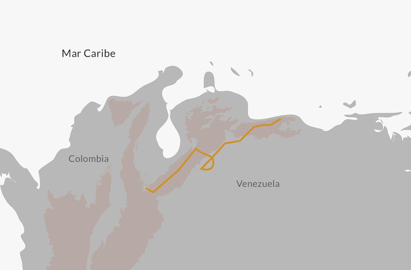 Mapa de la Campaña Admirable.