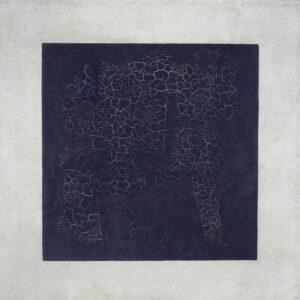 obra cuadrado negro de Kazimir Malévich
