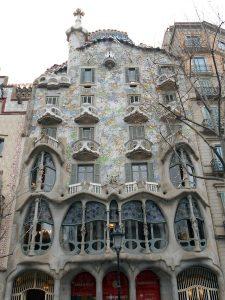 fotografía de la Casa Batlló