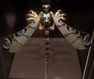 fotografía de Libélula, joya diseñada por René Lalique