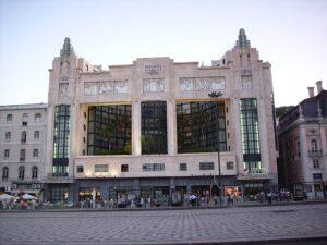 fotografía del Teatro Edén, Lisboa, 1931.