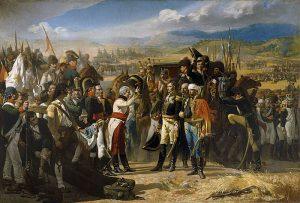 """pintura """"la rendición de Bailén"""", de Casado José"""