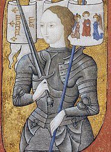 retrato imaginario de juana de arco