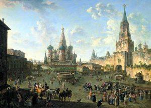 imagen de La Plaza Roja de Moscú