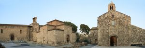 fotografía de un Conjunto arquitectónico visigótico de San Pedro de Tarrasa en Cataluña.