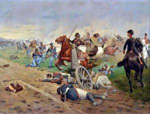 pintura de la batalla de Tucumán