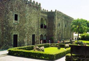 fotografía del palacio de Hernán Cortés