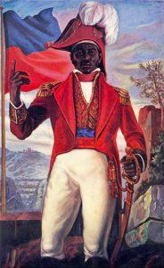 pintura de la Proclamación de la Independencia de Haití por Jean-Jacques Dessalines
