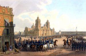 pintura de la ocupación de EE.UU. a México